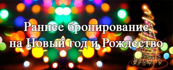 Раннее бронированние на Новый год и Рождество в санаторий Приднепровский!